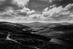 Endless (Ails N hgeartaigh) Tags: mountains mountain landscape land outdoor outside blackandwhite bw monochrome mono noir blanc nero sony sonya7 a7 2016 ireland wicklow europe european world earth
