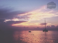 ( Black Orchid ) Tags: summer eolie island sea sunrise sun morning sky clouds lipari pink vsco vscocam