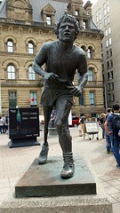 Terry Fox Statue (walneylad) Tags: ottawa ontario canada downtown parliamenthill statue art sculpture publicart nationalcapital summer august terryfox memorial hero