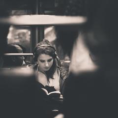 Reading (Zeeyolq Photography) Tags: book france lire livres paris reading woman ledefrance