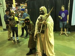tuskee (timp37) Tags: wizard world comic con august 2016 sand person people tusken raider jawa monica illinois chicago conlife cosplayers star wars rosemont tatooine