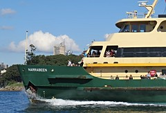 IMG_8092 Manly Ferry Narrabeen, The Bow. (Boat bloke) Tags: ferry narrabeen manlyferry sydney sydneyharbour harbour harbor coast water waterfront ship boat workboat canon sx50hs