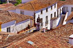 126 - Obidos les toits (paspog) Tags: obidos toits roofs decken tuiles tiles portugal villagemdival medievalvillage