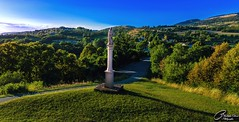 La vierge Marie du haut de la colline (Archangenithael) Tags: montagne couleur vierge landscape montain paysage