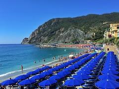 Monterosso al Mare - iPhone (Jim Nix / Nomadic Pursuits) Tags: sunshine beach coastline cinqueterre monterosso italy europe travel snapseed iphone