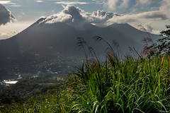Indonsie - Lokon (jf garbez) Tags: 24120mm asia asie backlighting city contrejour crater cratre clbes d600 empung fume indonesia indonsie landscape lokon mahawu nikkor nikkor2401200mmf4 nikon nikond600 paysage smoke sommet sulawesi summit tomohon town ville volcan volcanism volcanisme volcano gunungmahawu sulawesiutara