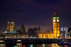 Parliament House (Meander Khedekar) Tags: parliament tower clock night light river water d600