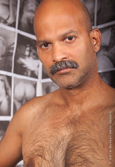 IMG_2175 (DesertHeatImages) Tags: yellow joe hunter hairy furry daddy bear otter naked nude uncut indian moustache camo