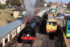 Swanage variety (daveymills31294) Tags: swanage railway southern railways class 20 mogul 31806 gbrf