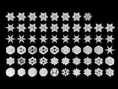 Icosahedron Stellation Gray (powerofankur) Tags: mathematics geometry polyhedron stellation 3d sunflow matlab icosahedron