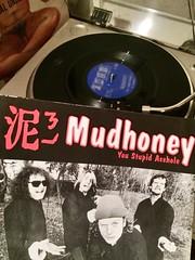 singles party (knitgirl) Tags: grunge 45 mudhoney vinyl tgif