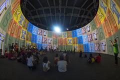 SINGAPORE INTERNATIONAL FESTIVAL OF ARTS (SIFA): RON ARAD'S 720 (gintks) Tags: gintaygintks gintks gardensbythebay gbtb singapore singaporetourismboard singapur sg51 yoursingapore exploresingapore colourful ronarad720