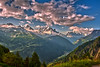 Sunrise on the Mont Blanc Massif. Taken from the Emosson Dam. No. 6492. (Izakigur) Tags: feel switzerlnad thelittleprince lasuisse laventuresuisse liberty france montblanc montblancmassif morning sunrise emossonbarrage emosson val hautesavoie wallis coldplay fixyou tmb d700 nikon nikkor alps alpes topf25 100faves 200faves 25ofaves 300faves 500faves 750faves