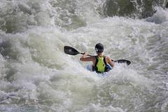 Upstream Battle (dngovoni) Tags: greatfalls kayak rapid sport summer water