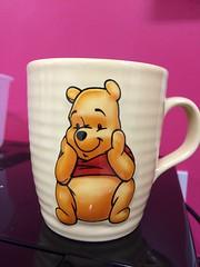 Winnie (My photos live here) Tags: winnie the pooh bear mug cup handle pottery aa milne london