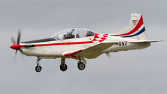 Croatian PC-9M. (spencer.wilmot) Tags: krilaoluje croatianairforce pilatus pc9m 067 ffd fairford riat royalinternationalairtattoo airshow arrival approach turboprop prop aviation plane trainer airplane aircraft militaryaviation egva displayteam display airdisplay landing