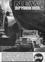 1961 Willys Jeep Universal with Perkins Diesel Engine (aldenjewell) Tags: 1961 willys jeep universal perkins diesel engine time magazine may 26 ad