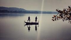 Autumn (Luc1659) Tags: autunno autumn fisherman lago tranquillit silenzio seppia
