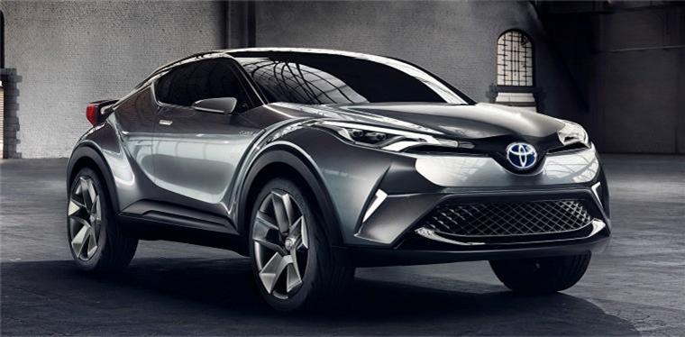 Toyota C-hr 量產車型明年 3 月亮相