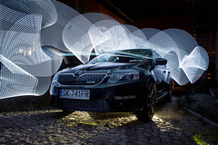 IMG_5715aaa (matek 21) Tags: lightpainting longexposure lp light painting skoda octavia car varta led flashlight vartaflashlight mateuszkrol malowaniewiatem mateuszkrl design photography canon eos kit lens 1855