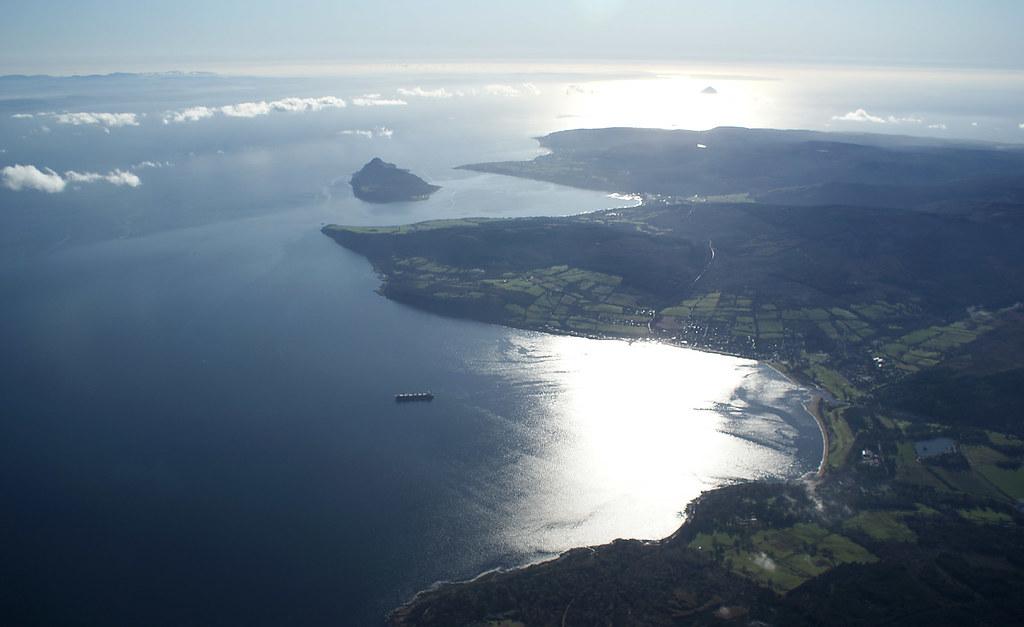 Brodick and Holy Island, Arran