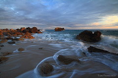 Atardecer en El Estrecho 6 (ToniFrancisco) Tags: travel nature canon eos andalucía europe playa cádiz tarifa landcapes 60d