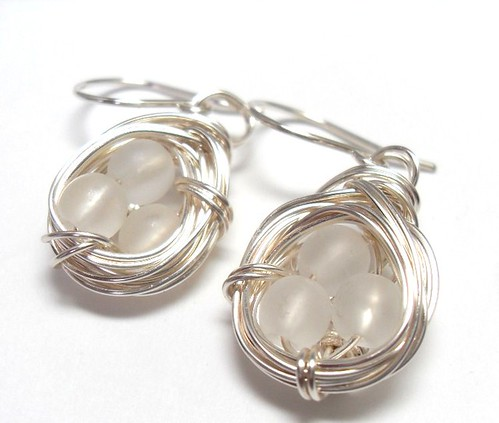 A Nest Adorned Earrings