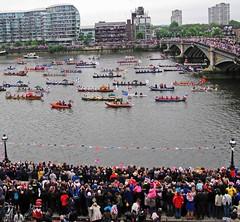 06 Battersea Bridge (HClaireB) Tags: river boats jubilee royal flags pageant battersea