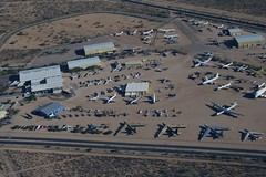 Aerial View, Pima Air and Space Museum (Peter Cook UK) Tags: arizona tucson aerialview boneyard amarg