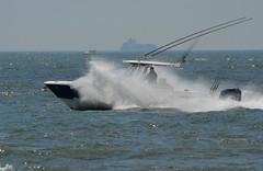 Boat in an Ocean Spray (KoolPix) Tags: ocean sea water boat atlanticocean oceanspray speedingboat koolpix jaydiaz dailynaturetnc13 wcswebsite photocontesttnc14 dailynaturetnc14