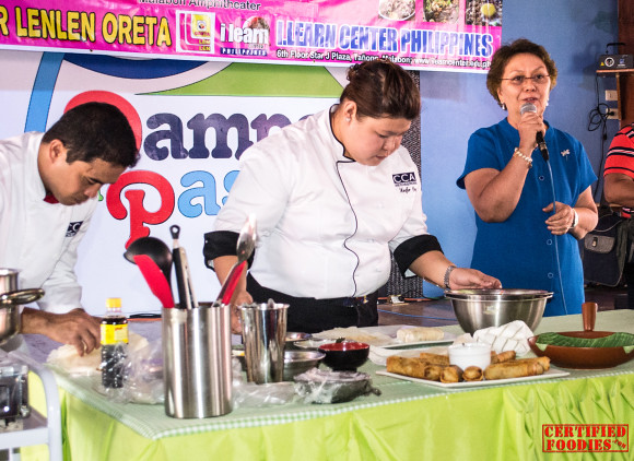 Annie Guerrero, founder of Center of Culinary Arts Manila, is from Malabon