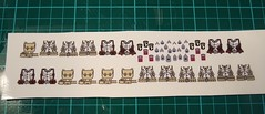 American and German WWII Waterslide Decals (zalbaar) Tags: lego german american ww2 decal waterslide decals brickarms zalbaar