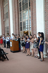 Freeman Scholars Reception 01 (wesleyan.university) Tags: usa reunion connecticut commencement middletown rc 2012 wesleyanuniversity reunionandcommencement freemanscholarsreception rc2012 freemanasianscholars