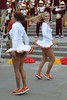 Img284898nx2 (veryamateurish) Tags: london trafalgarsquare cheerleaders band usc universityofsoutherncalifornia girl woman panties miniskirt