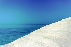 Rhapsody in Blue/Blue in Green /Grande Amour (OCEANIABLU wants to live in Sicily) Tags: blue sea sun white snow love mare blu amour neve scala bianca sole amore dei sicilia agrigento 2012 turchi scaladeiturchi explora esplore