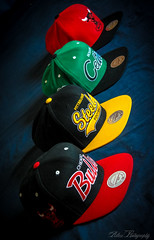 Mitchell & Ness Snapbacks (Allen_Photography) Tags: chicago boston pittsburgh 4 hats bulls collection mitchell dope swag steelers celtics ness lightroom snapbacks