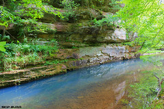 Bell - Smith Springs (Skip Burr) Tags: creek spring turquoise canyon southernillinois shawneenationalforest bellsmithsprings