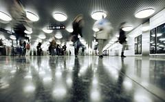 La gente (laororo) Tags: barcelona people underground metro citylife