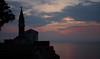 Sunset in Piran (Gilles 1972) Tags: sea landscape coast countryside vakantie europa europe country jacqueline paisaje slovenia piran 景观 paysage adriatic stijn 2012 landschap kust istrië jetske pirano slovenië 景觀 prian pejzaĝo adriatischezee gulfofpiran mei2012 baaivanpiran golfvantriëst gillesdenbandt