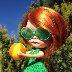 Blythe-a-Day June: 20/30 Fun in the Sun