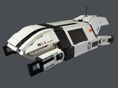 UT-47 Kodiak Drop Shuttle (N-11 Ordo) Tags: 2 3 man jeff jack 1 ship tali lego reaper space military jacob flight drop adventure creation human shuttle scifi veh