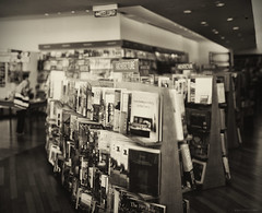 seeing anew (whatsaysjimmy) Tags: life film field sepia architecture turn canon photography 50mm prime book store open wide books retro again seeing shallow depth method uncategorized brenizer f17 anew whatsaysjimmy