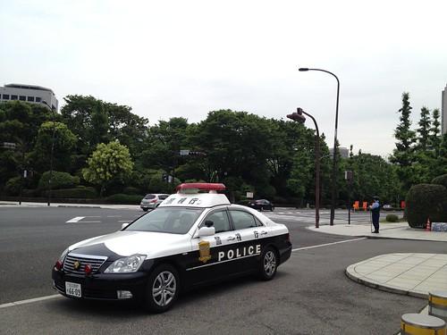 Police car, Tokyo
