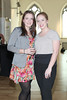 Aine O'HAra & Lisa McKee pictured at the ebay.ie fashion show at Smock Alley Theatre, part of the ebay.ie online fashion week. Photo: Anthony Woods.
