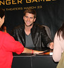 Liam Hemsworth Barnes & Noble celebrates 'The Hunger Games' Los Angeles release Los Angeles, California