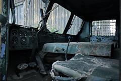 (Sameli) Tags: tractor suomi finland decay military soviet artillery 1952 ats ats712