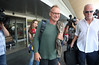 Gordon Sumner aka Sting arrives at Zagreb Airport ahead of his concert at the Arena tonight Zagreb, Croatia
