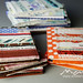 Stack of selvedge notebooks A6