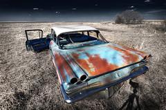 cruisin' on the prairies (Harry2010) Tags: door classic abandoned car rust pontiac saskatchewan prairies platinumheartaward