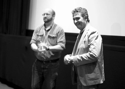 Blood of My Blood director Joao Canijo with James Rice at the Filmhouse